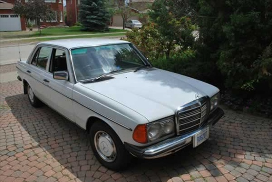 1978 Mercedes 200D Right Hand Drive