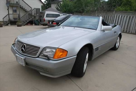 1992 Mercedes SL 500 Convertible